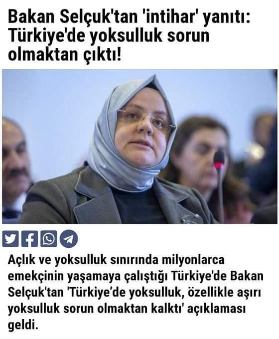 """Bakan Selçuk """"Türkiye de yoksulluk sorun olmaktan çıktı"""" dedi"""