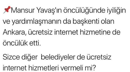 Ankara Büyükşehir Belediyesi'nden çocuklara ücretsiz internet