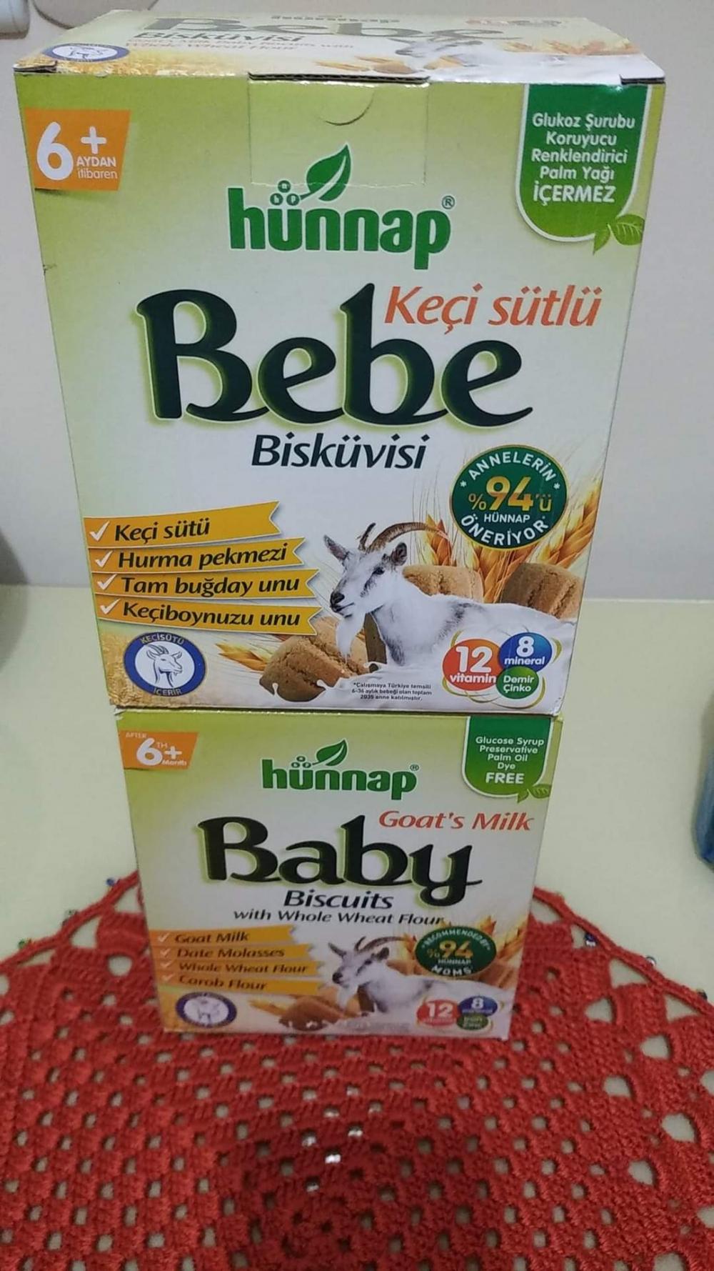 Bebeğine Hünnap bebe bisküvisi veren var mı?