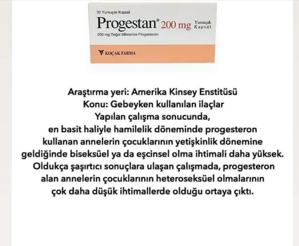 Progestan zararlı mı?