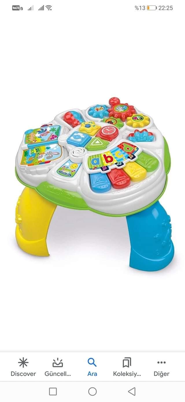 Çocuğuna aktivite masası alanlar