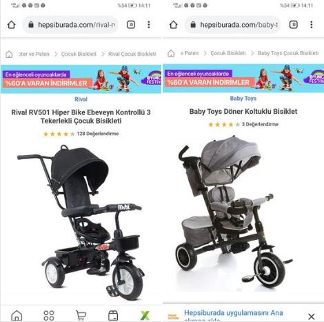 Çocuklar için bisiklet önerisi