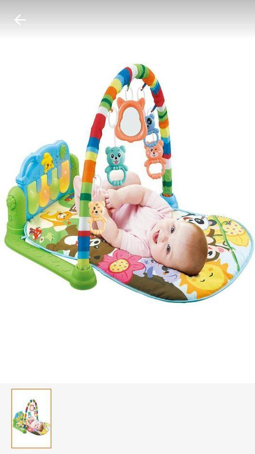 Bebek oyun halısı kullanan var mı
