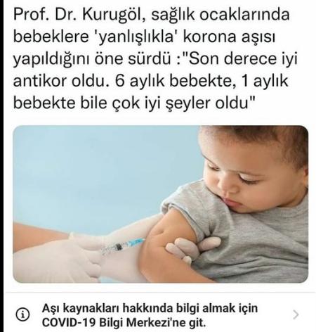 """Korkutan iddia: """"Bebeklere yanlışlıkla Covid-19 aşısı yapıldı"""""""
