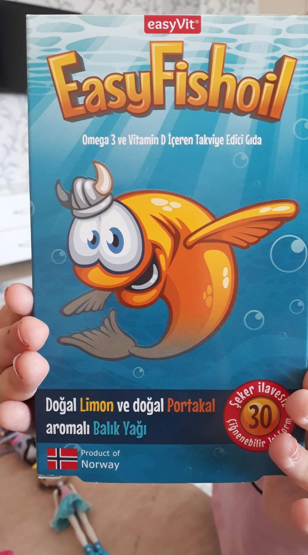 Easy fish oil kullanan var mı