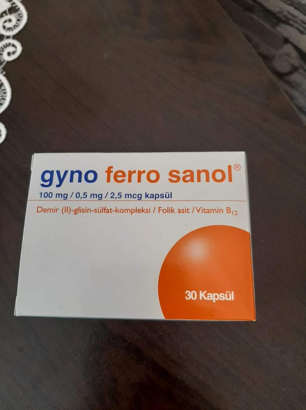 Gyno ferro sanol ishal yapar mı?