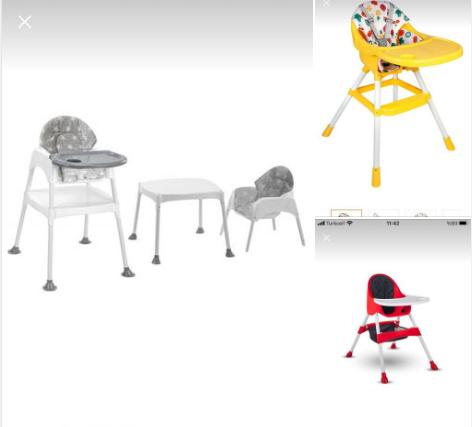 Bebekler için mama masası önerisi