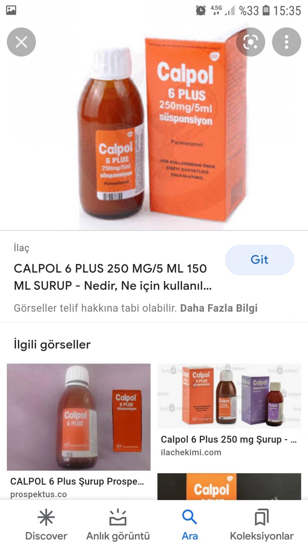 Calpol 6 plus kaç yaş aralığı çocuklara verilmelidir