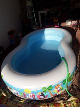 Çocuklar için havuz alan var mı