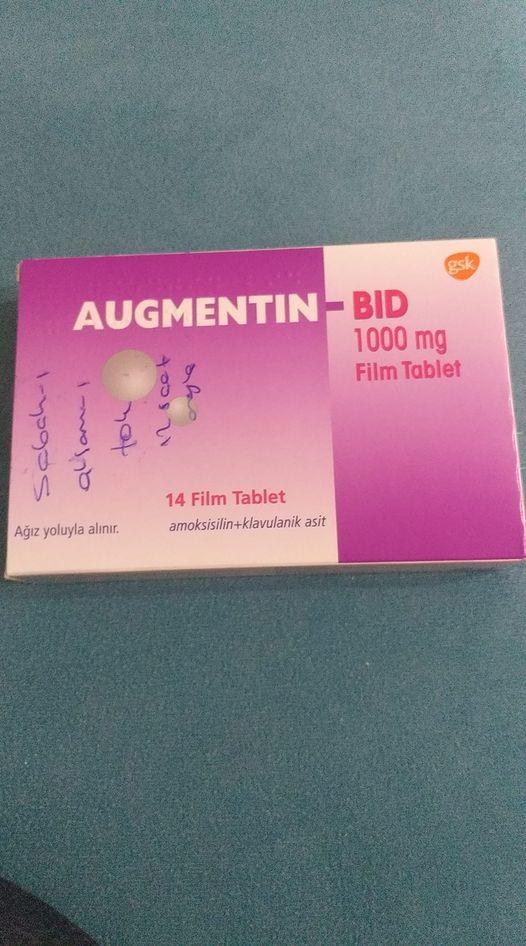 Hamilelikte augmentin kullanan var mı